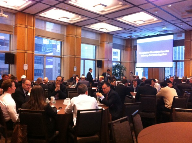 The Americas Conference 2014 – the weather outside is frightful.