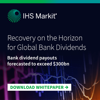 Recovery on the Horizon for Global Bank Dividends